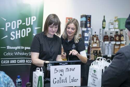 Whiskey Live Dublin Pop Up Shop